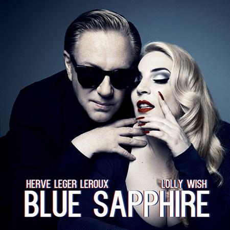 Herve Leger Leroux X Lolly Wish Blue Sapphire